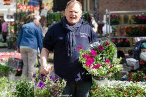 Geraniummarkt in Wijk bij Duurstede op @ Wijk bij Duurstede | Wijk bij Duurstede | Utrecht | Nederland