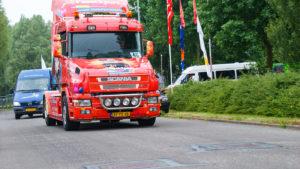 Truckerskonvooi in Druten op zondag 10 juni 2018 @ Druten | Druten | Gelderland | Nederland