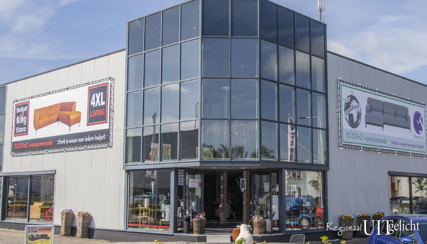 Bedrijven Uitgelicht, Budget King Store, Cosmopolite, Sleeptime in Leerdam