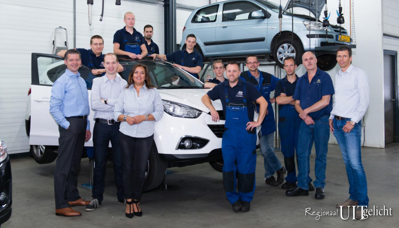 Bedrijven Uitgelicht Cluistra, de Hyundai en Mazdadealer van de hele regio