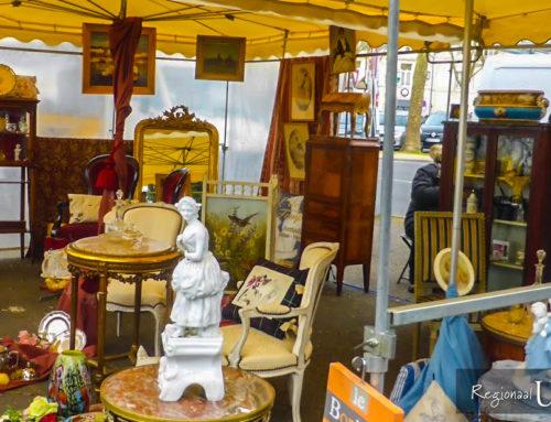 Kerkmarkt in Waardenburg op zaterdag 15 juni